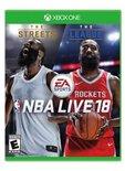 哈登当选《NBA Live18》游戏封面人物
