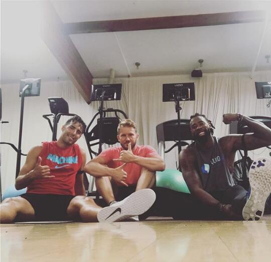 武賈西奇與小喬丹一起訓練:又是一周很棒的訓練