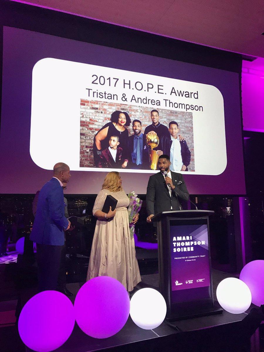 特裡斯坦-湯普森的基金會獲獎:感謝大傢的支持