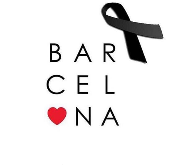 保羅-加索爾曬圖為遭遇恐怖襲擊的巴塞羅那祈福