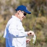 雷霆官方发布首届乔治钓鱼大赛的精彩图集