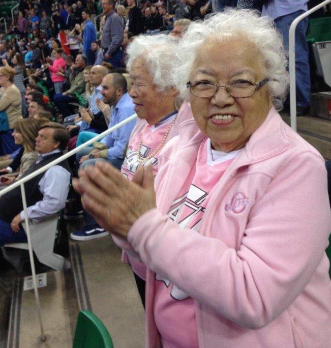 爵士奶奶級球迷Keiko逝世,官方向其致意
