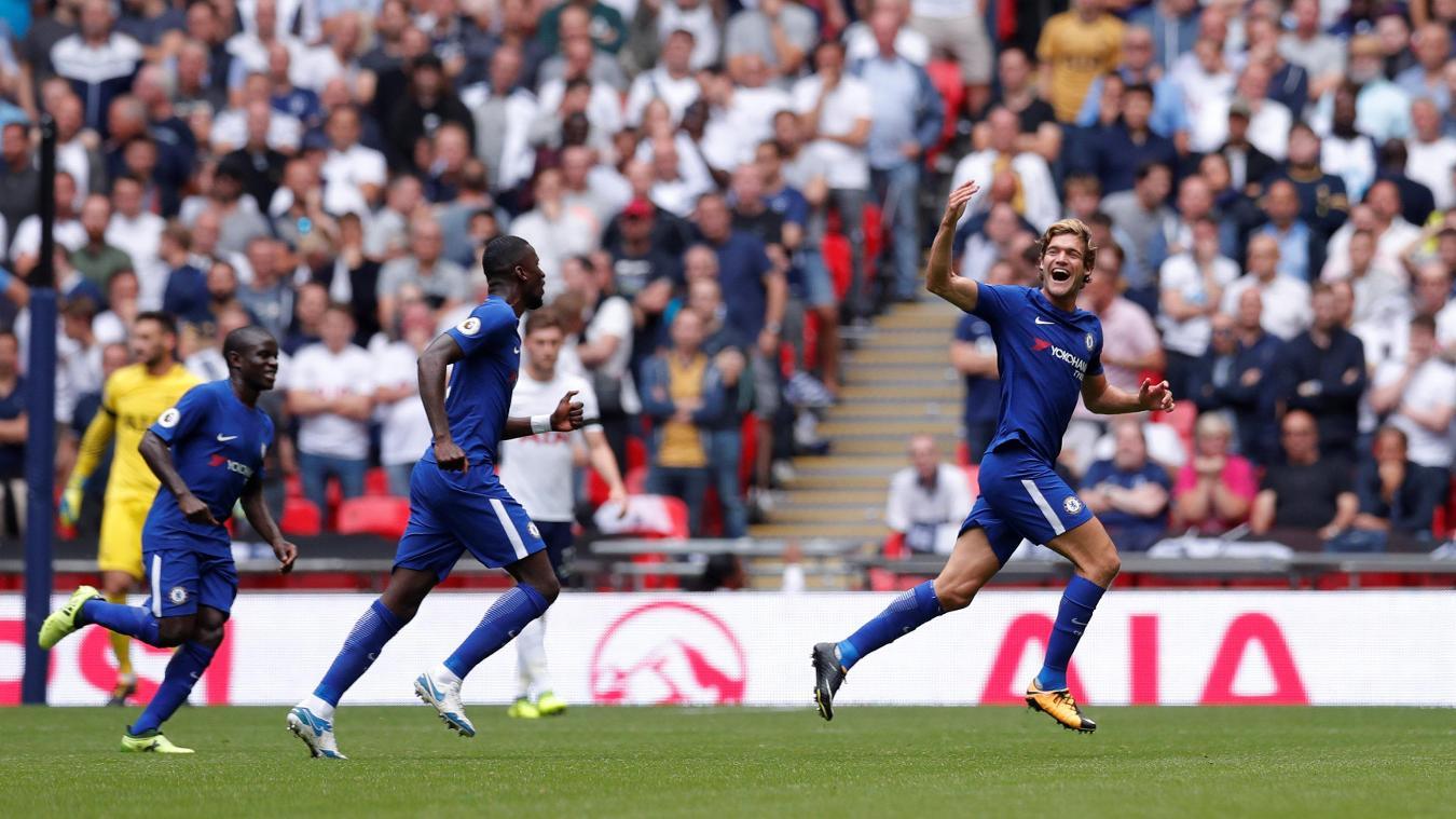半场:阿隆索任意球破门,切尔西1-0热刺