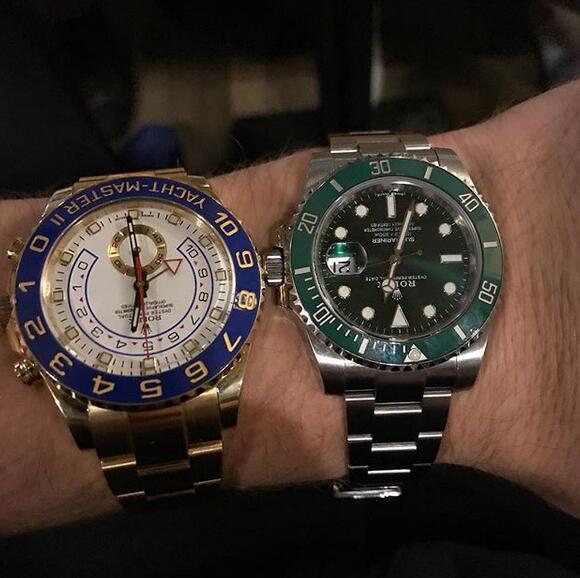 莫茲戈夫曬手表:選擇哪一塊?