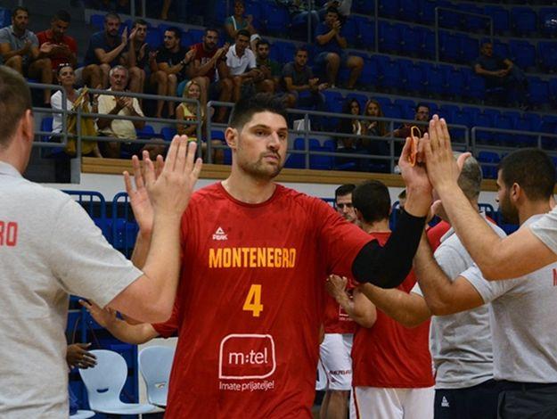 黑山熱身賽戰勝比利時,武切維奇得到17分