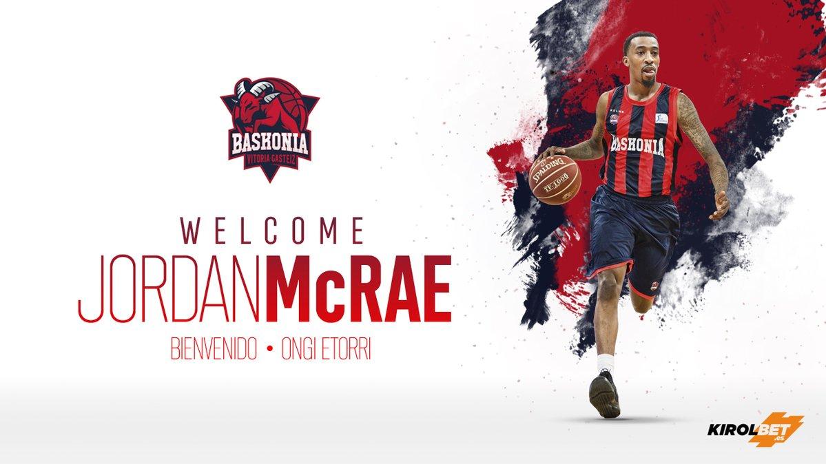 官方:喬丹-麥克雷正式和巴斯克尼亞簽約一年
