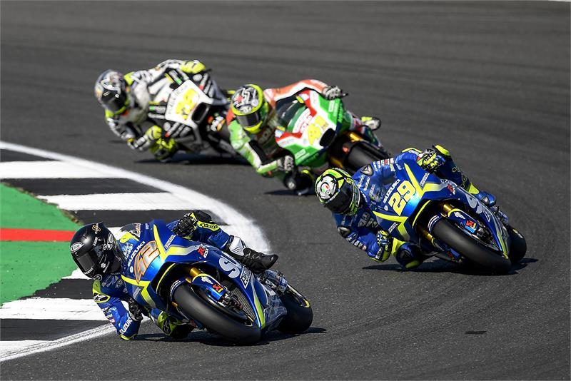 [MotoGP]跨过海峡,铃木英国挤入前十