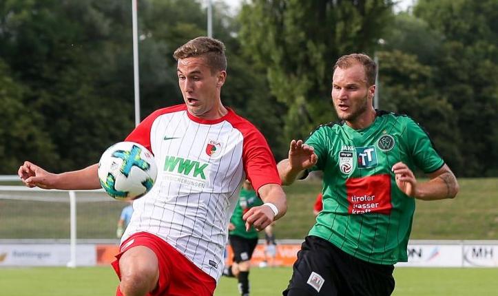 官方:奥格斯堡将君特尔-施密特租借至德丙球队