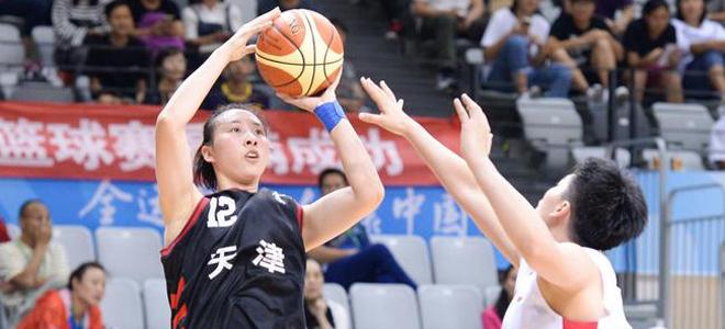 天津女篮主帅:学生打球更灵活,善于动脑筋
