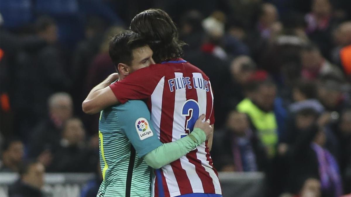 菲利佩:我钦佩梅西,他在比赛中从没有骂过我