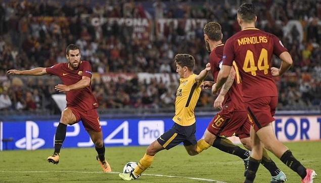 萨乌尔错失绝杀马诺拉斯救险,罗马0-0马竞