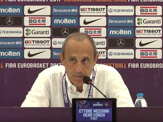 梅西纳:对于意大利球员们的付出,我只有感激