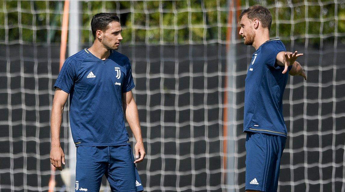 赫韦德斯与尤文全队合练,德西利奥仍在养伤