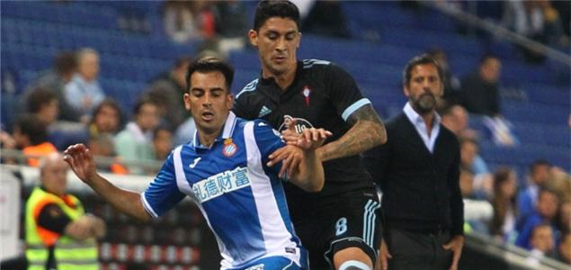 莫雷诺皮亚蒂建功,西班牙人2-1塞尔塔