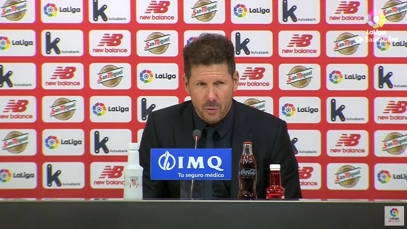 西蒙尼:希望马竞能够在球场上体验2019年欧冠决赛