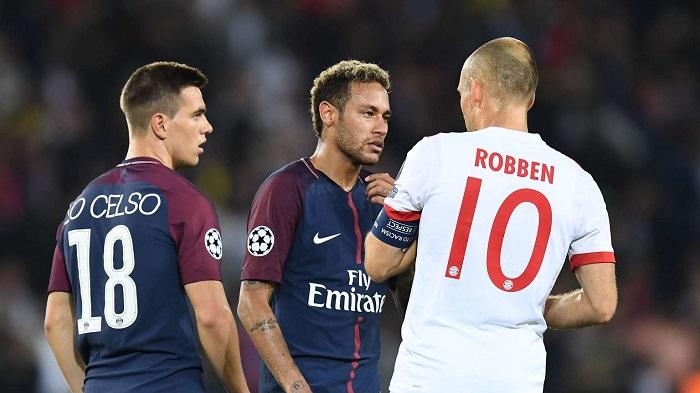 罗本:首发阵容是教练的决定;巴黎的效率很高