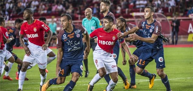 法尔考破门卡马拉补时绝平,摩纳哥1-1蒙彼利埃