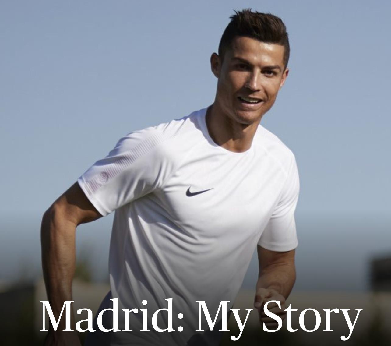 C罗亲笔:马德里——我的故事