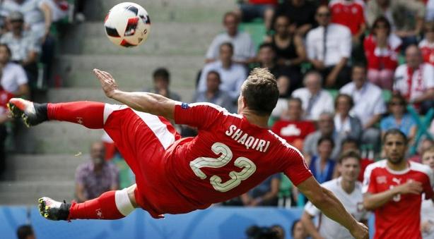 生日当天迎来出线关键战,瑞士足协祝沙奇里生日快乐