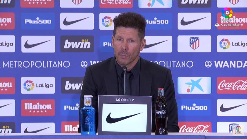 西蒙尼:国际比赛日后的梅西有些疲劳,但今天还是很出色