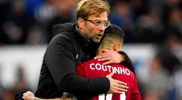 巴拉格:利物浦不会在1月出售库蒂尼奥