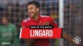 梅开二度!林加德成功当选曼联全场最佳球员