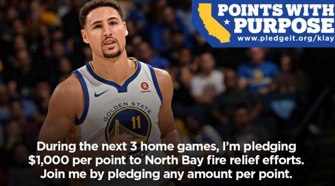 克莱:为了慈善,希望我能变得手感火热