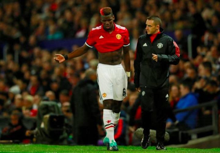 穆里尼奥:博格巴还在单独训练,不知道何时能回归