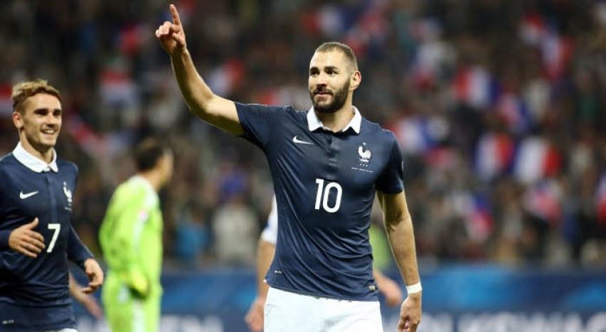 本泽马:渴望重回法国队,哪个球员不想为国出战呢