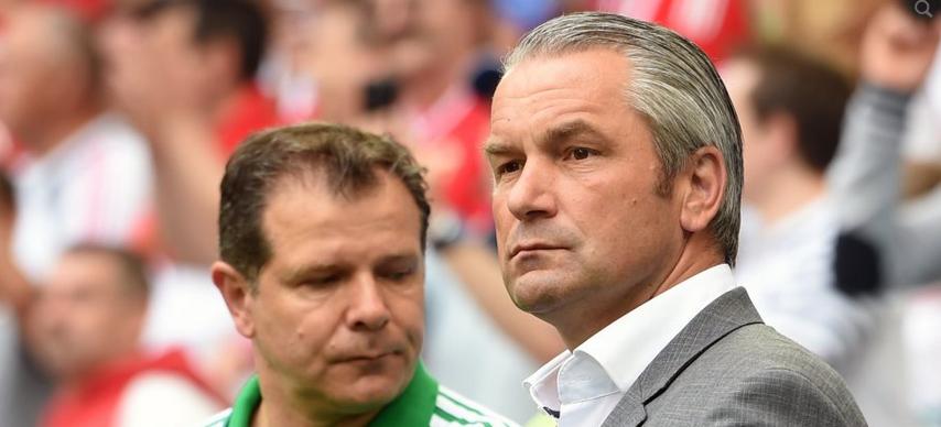 前匈牙利主帅施托克:想在德甲证明自己做主教练的能力