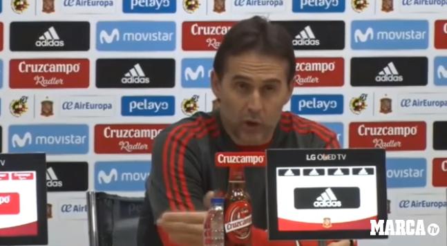洛佩特吉:无论抽到什么对手,西班牙都是欢迎的
