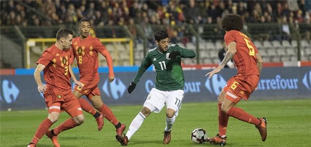 热身赛:比利时进球大战平墨西哥,波兰乌拉圭互交白卷