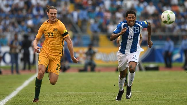 世预赛洲际附加赛:澳大利亚0-0客平洪都拉斯