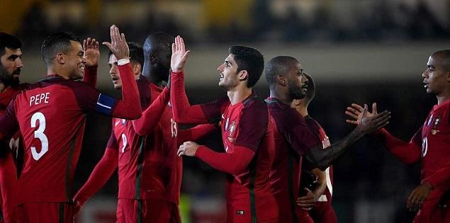 格德斯传射费尔南德斯破门,葡萄牙3-0沙特阿拉伯