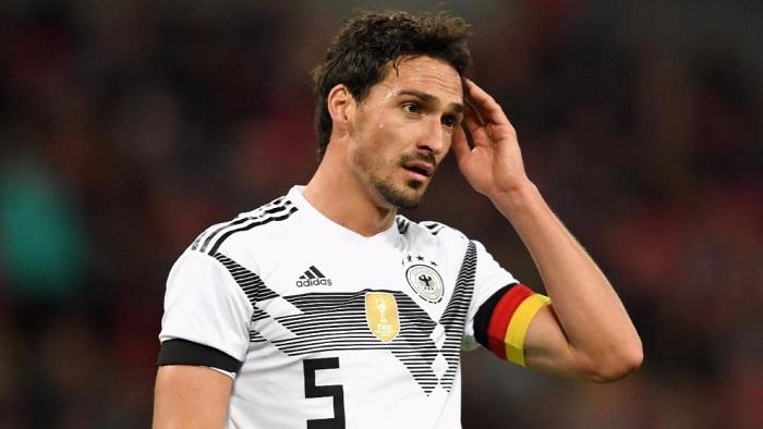 德国赛后评分:胡梅尔斯和萨内高分