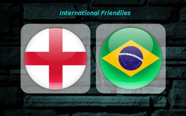 英格兰vs巴西首发:拉什福德登场,内马尔领衔