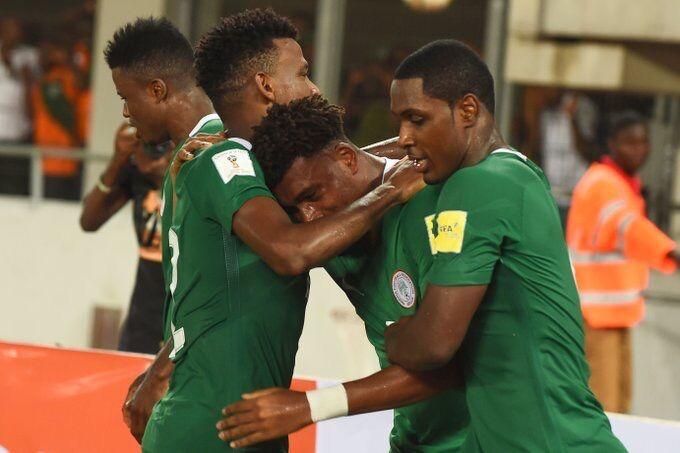 GIF:伊希纳乔任意球破门!尼日利亚扳回一球