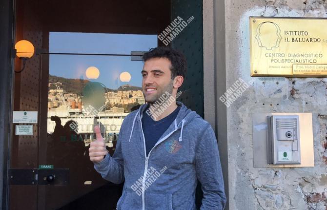意媒:朱塞佩-罗西今天接受热那亚的体检