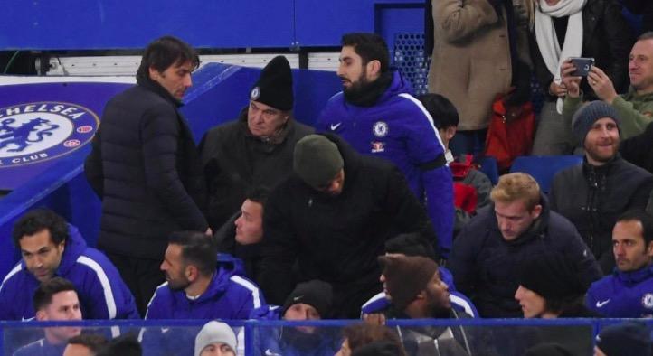 英媒:孔蒂或因被罚上看台受到禁赛处罚