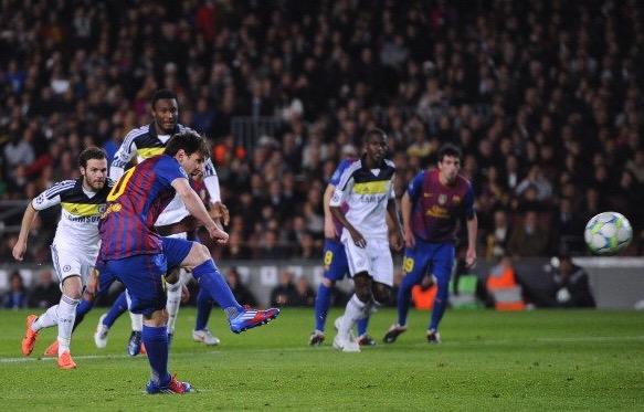 数读巴萨vs切尔西:梅西8次对阵蓝军从未进球