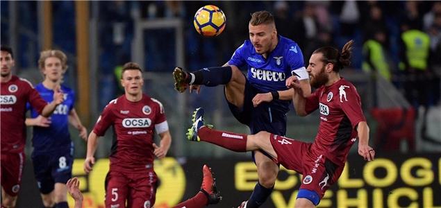 意大利杯:因莫比莱双响,拉齐奥4-1希塔德拉晋级8强