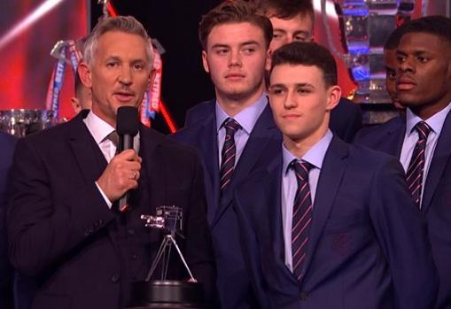 福登获BBC英国年度青年体坛风云人物大奖