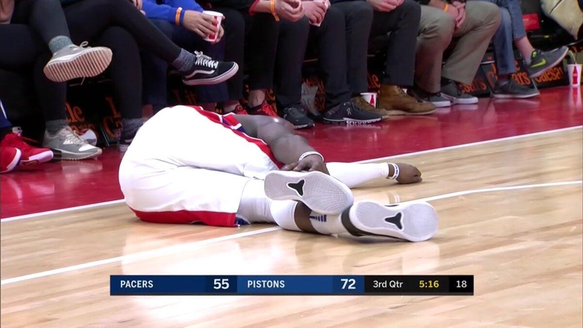 雷吉-杰克逊右脚踝扭伤,本场比赛不会回归