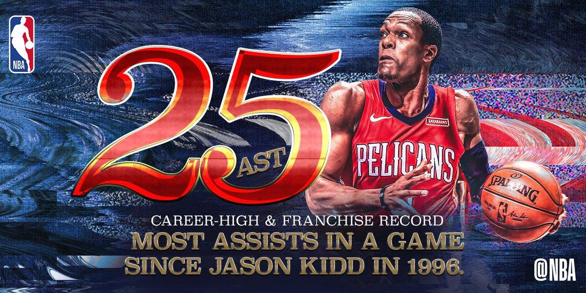NBA官方评选今日最佳数据:隆多25次助攻当选
