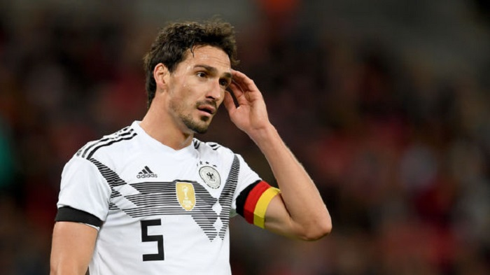 胡梅尔斯:德国队的世界杯分组非常困难