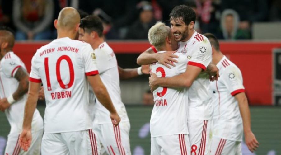 马丁内斯里贝里J罗破门,拜仁客场3-1勒沃库森迎5连胜