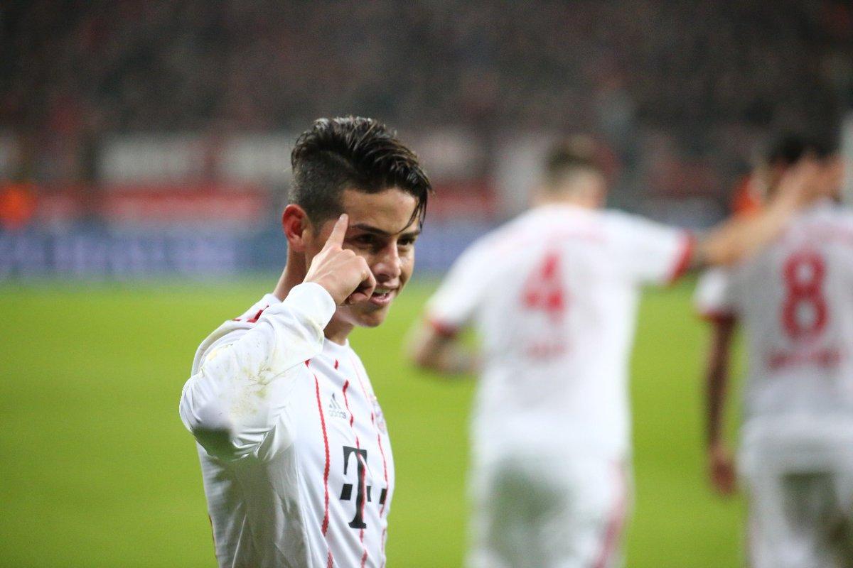GIF:J罗直接任意球建功,拜仁3-1勒沃库森