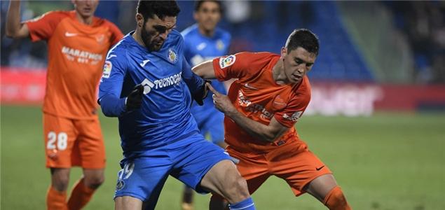 西甲:J-鲁伊斯制胜破门,赫塔菲1-0送马拉加4连败