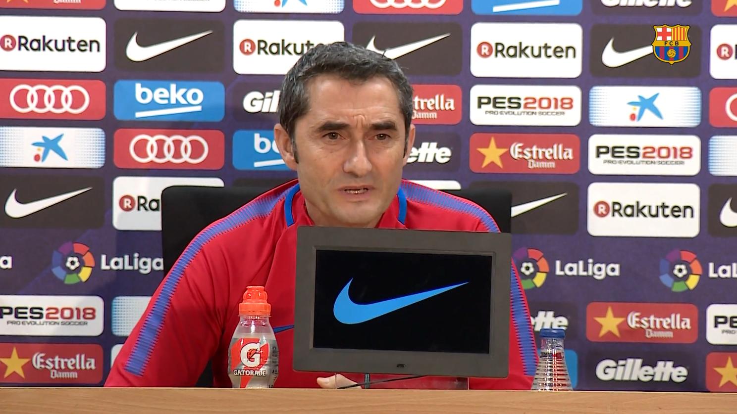 巴尔韦德提醒皮克:西班牙人属于巴塞罗那,是一个伟大的对手