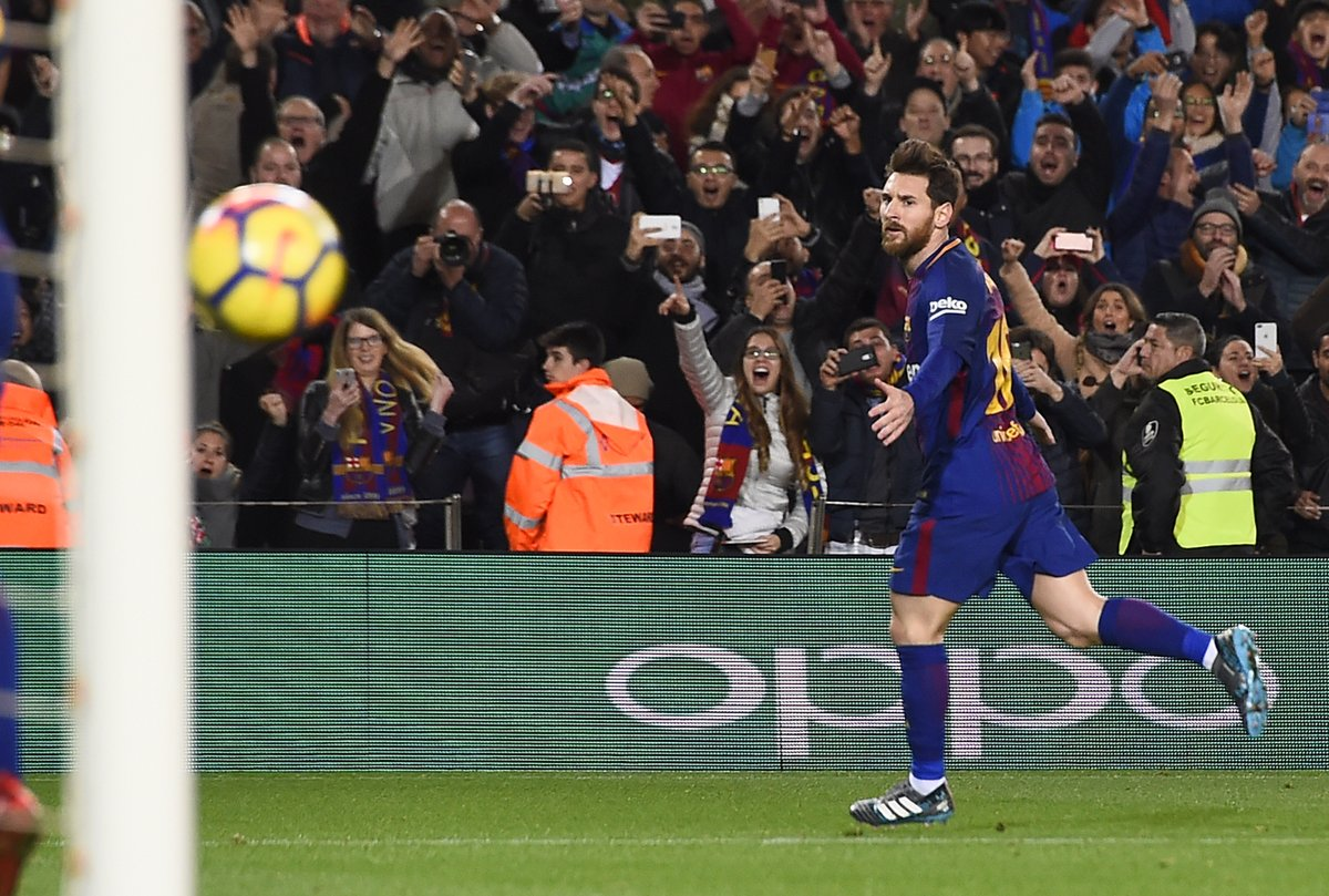21球,梅西成近15年来西甲打进任意球次数最多球员